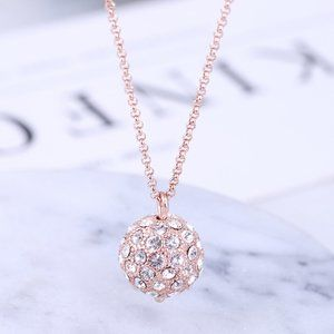 Kate Spade crystal ball necklace